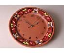 Reloj esmaltado de cerámica