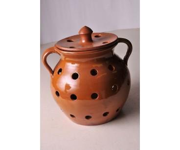 Legumbrera artesana de cerámica