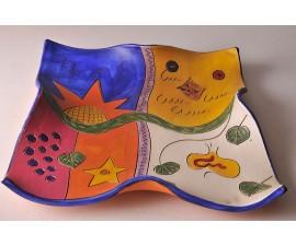 Plato de colores para decoración