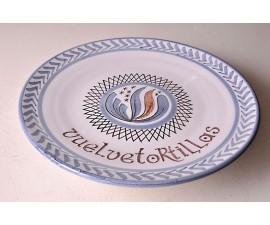 Vuelve tortillas artesano de cerámica