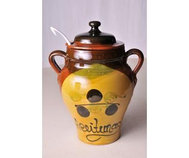 Aceitunero de cerámica