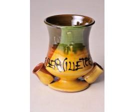 Servilletero de cerámica
