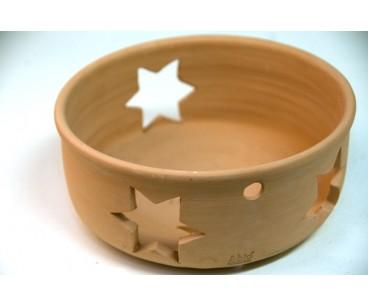 Macetero decoración de estrellas
