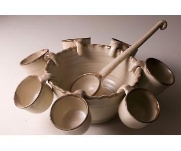 Ponchera de cerámica